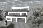 nízkoenergetický terasový dům - Brno venkov