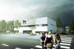 rekonstrukce  Kulturního  domu a  dostavba  mediatéky v Klášterci  nad Ohří