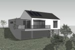 Nízkoenergetický rodinný dům Uherský Brod