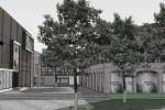 Urbanistické řešení areálu, Svatopetrská, Brno - Komárov